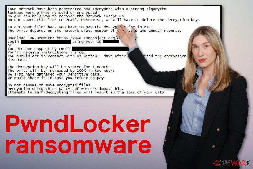 PwndLocker ransomware virus