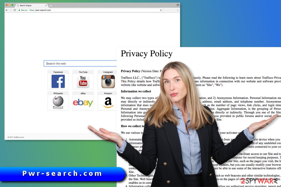 The picture of Pwr-search.com virus