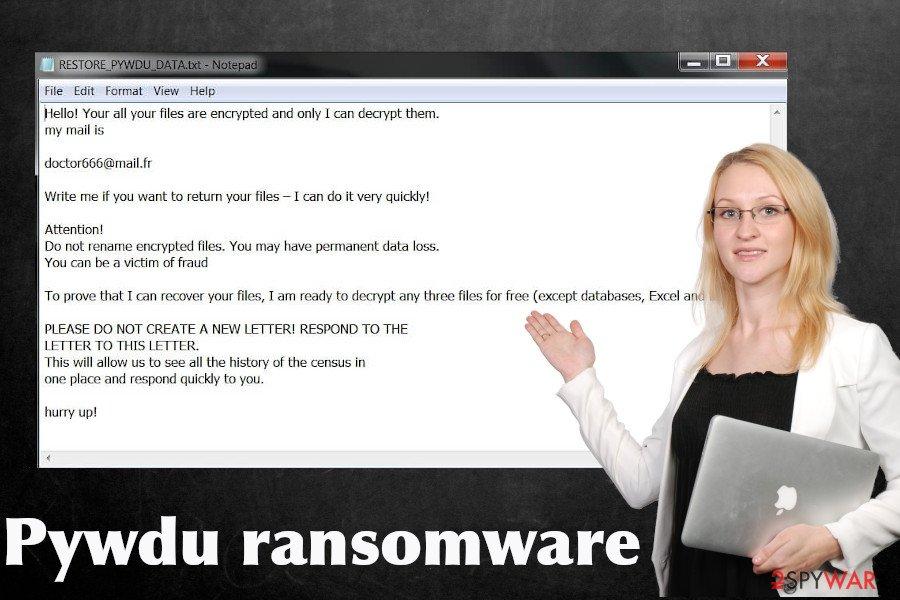 Pywdu ransomware