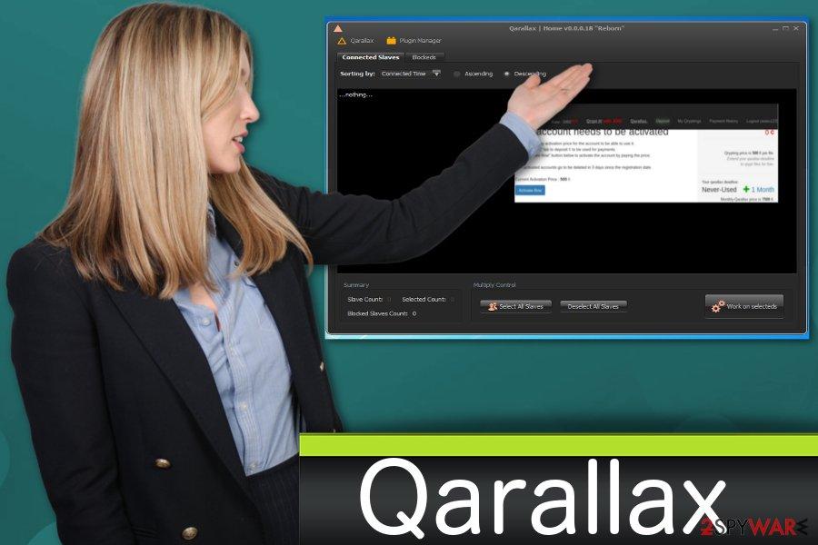 Qarallaxmalware