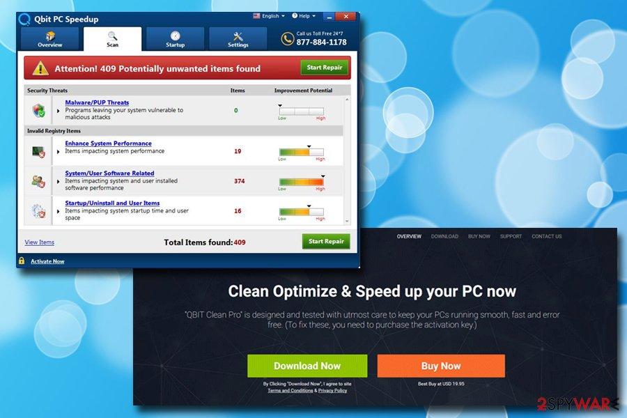 Qbit PC Speedup PUP