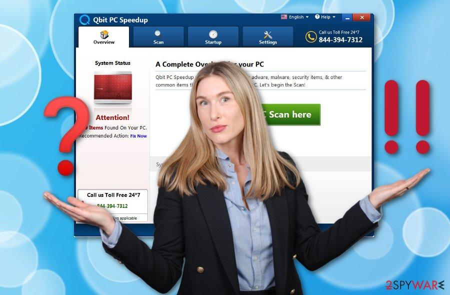 Qbit PC Speedup fake system optimizer