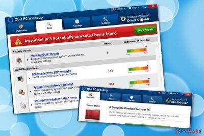 Qbit PC Speedup unreliable software