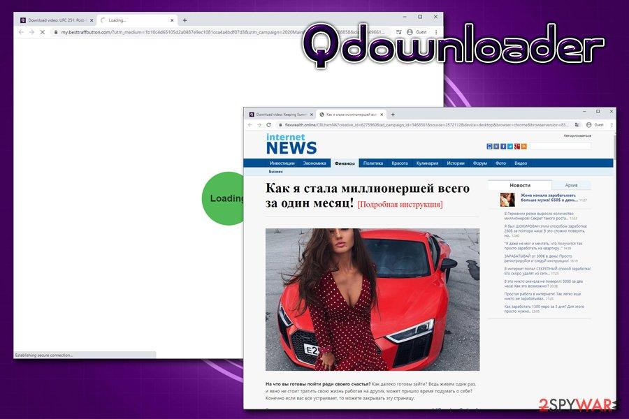 Qdownloader downloads