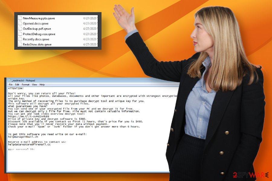 Qewe ransomware