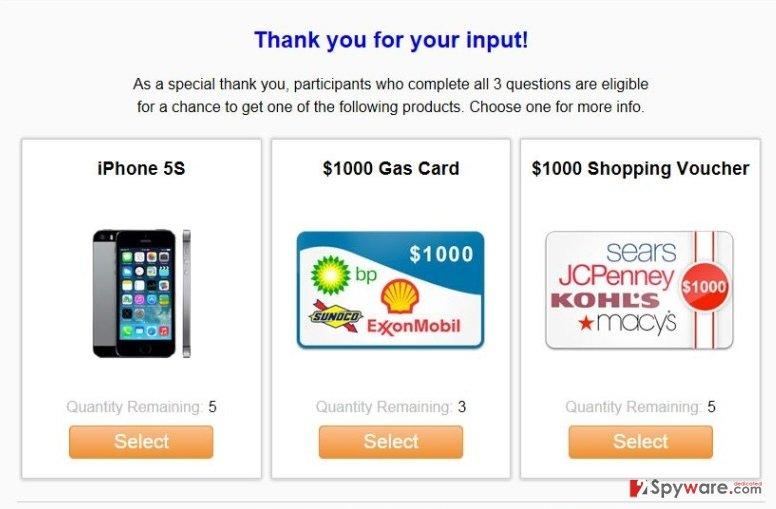 Qiip.net pop-up ads snapshot