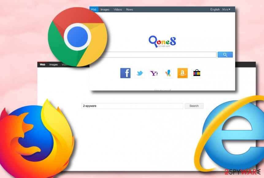 Qone8.com browser hijacker