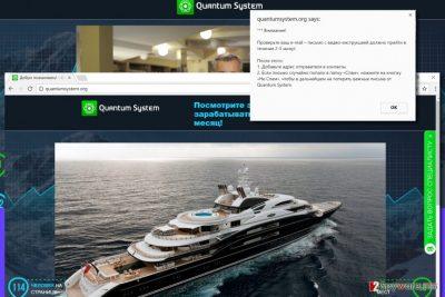 Quantumsystem.org ad