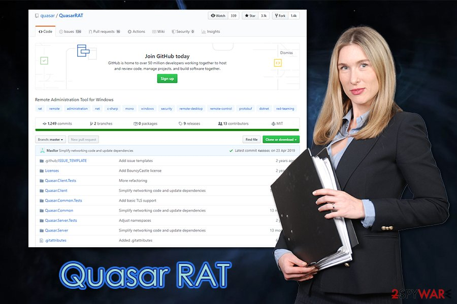 Quasar RAT