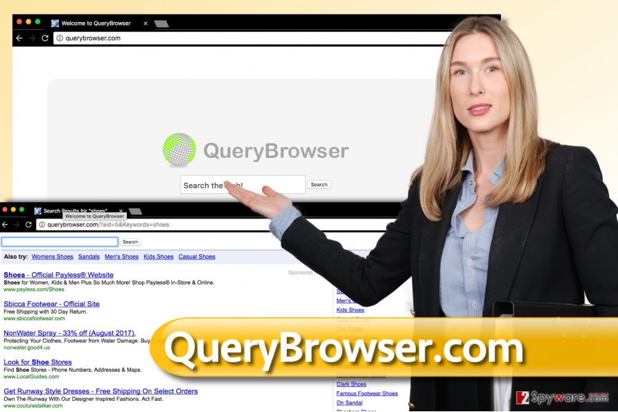 QueryBrowser.com redirect