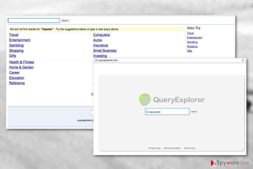 Queryexplorer.com virus