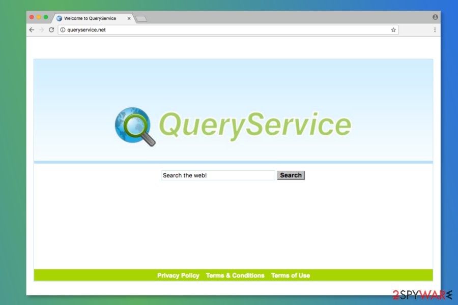 Screenshot of Queryservice.net