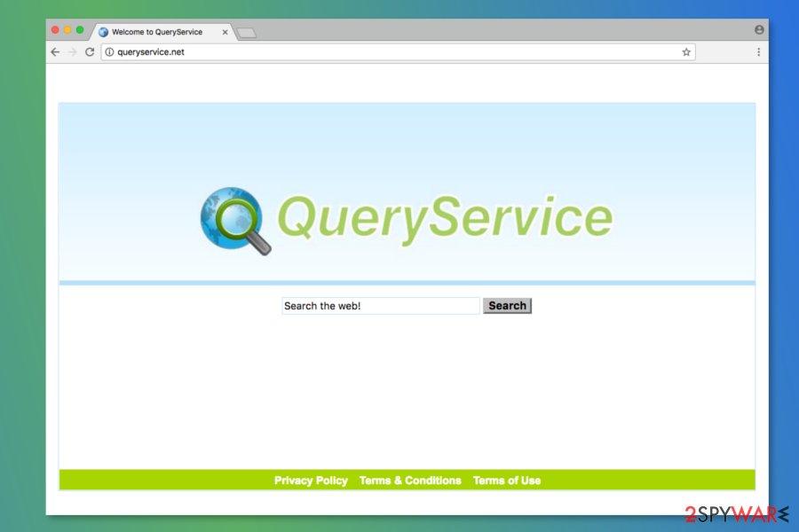 Screenshot of Queryservice.net