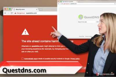 QuestDNS.com virus