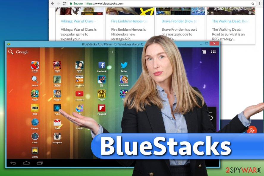 BlueStacks software