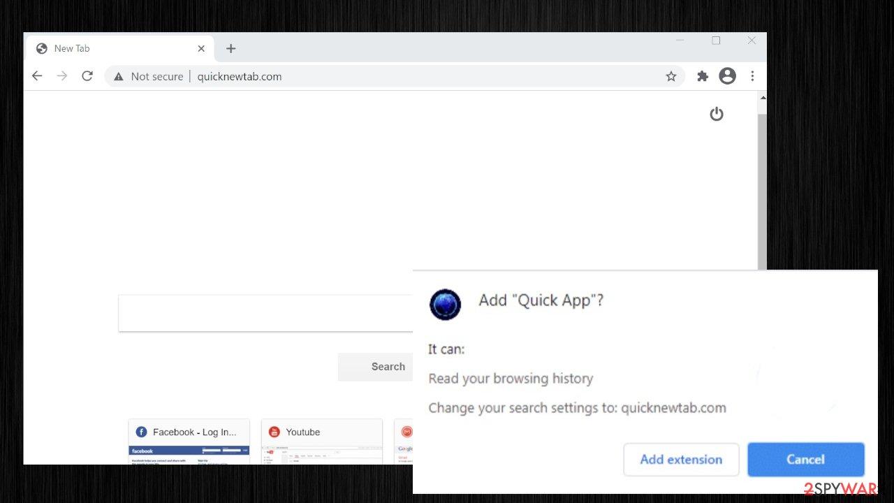 Quick App extension