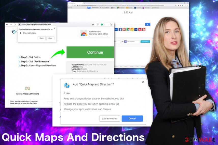 Quick Maps And Directions virus