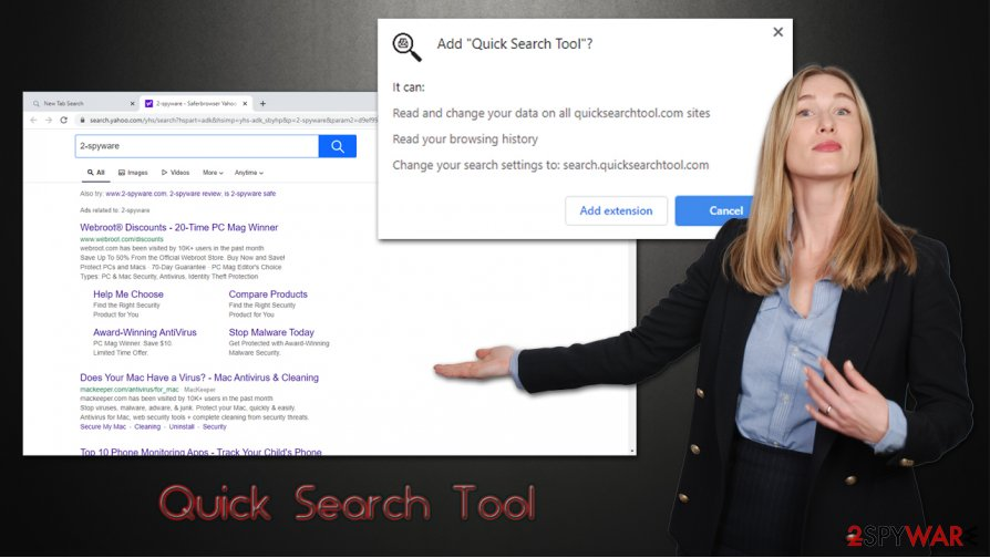 Quick Search Tool hijack