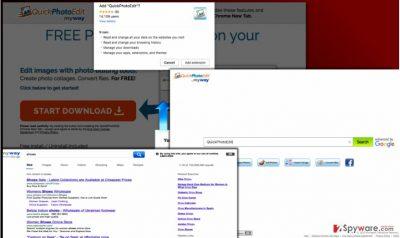 Screenshot of QuickPhotoEdit PUP