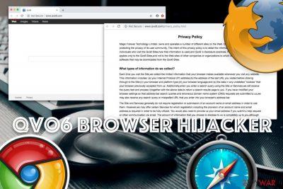 Qvo6 browser hijacker