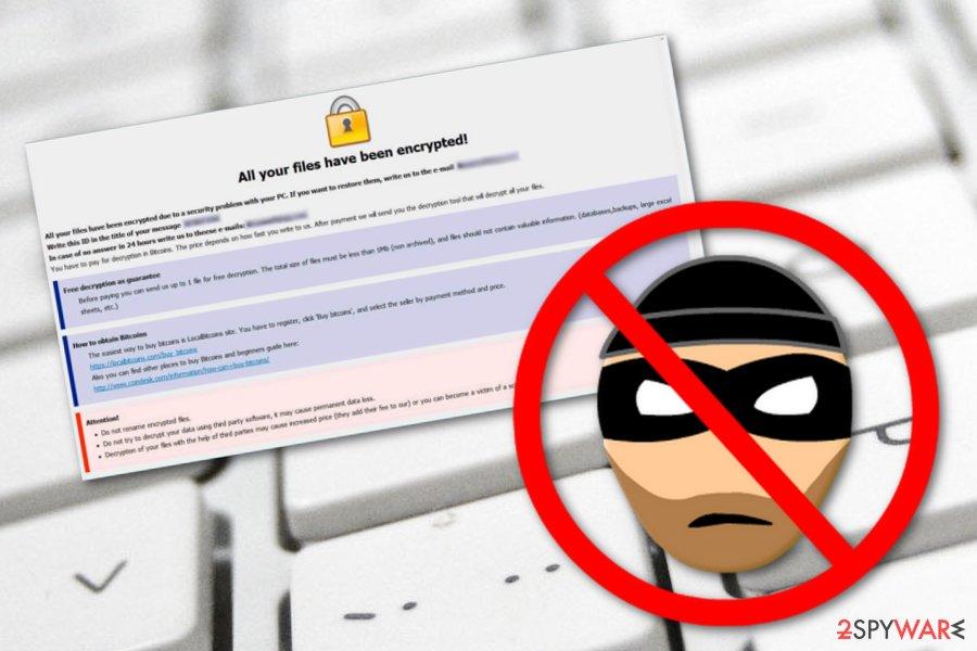 Qwex ransomware virus