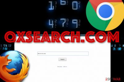 Qxsearch.com browser hijacker