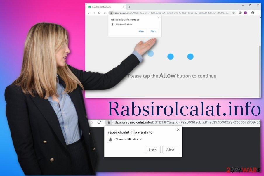 Rabsirolcalat.info virus