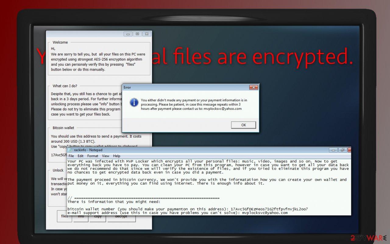 RackCrypt ransomware