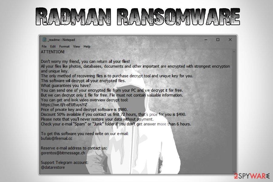 Radman ransomware