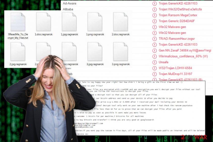 Ragnarok ransomware virus