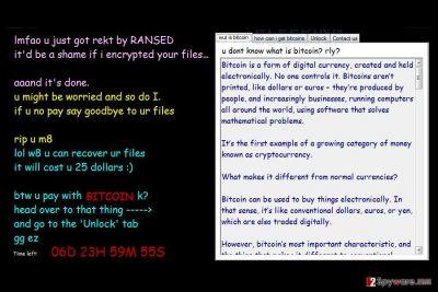 Ransed ransomware virus