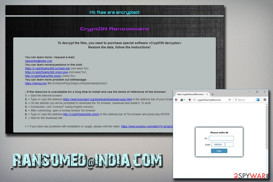 Crypton - ransomed@india.com version