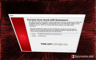 Ransomeer is ready to encrypt files