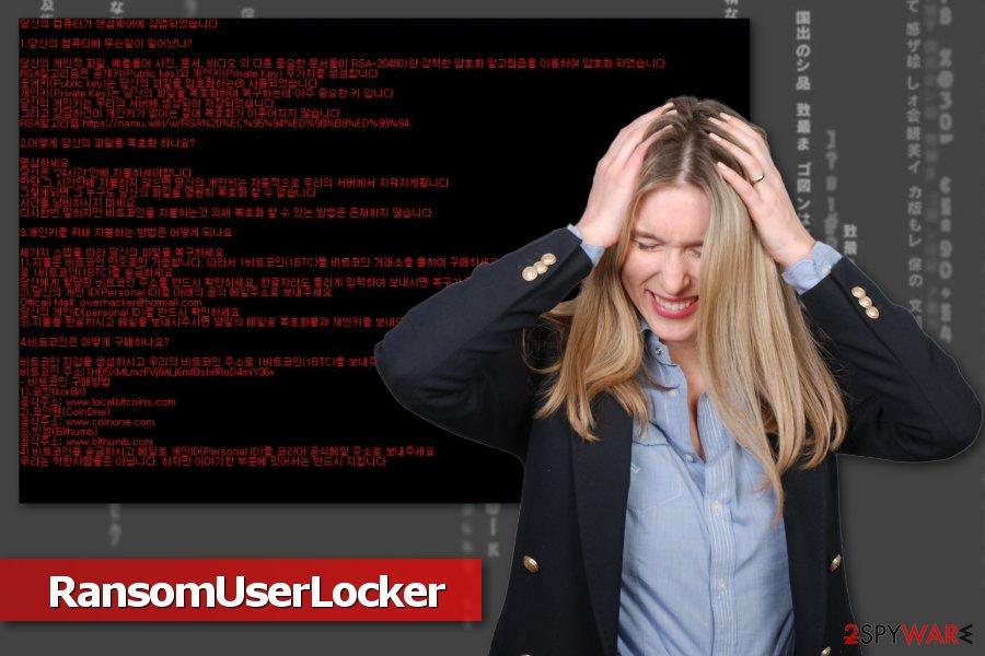 Image of RansomUserLocker ransomware virus