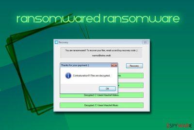 Ransomwared ransomware
