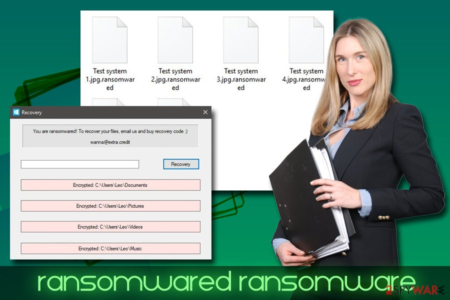 Ransomwared virus
