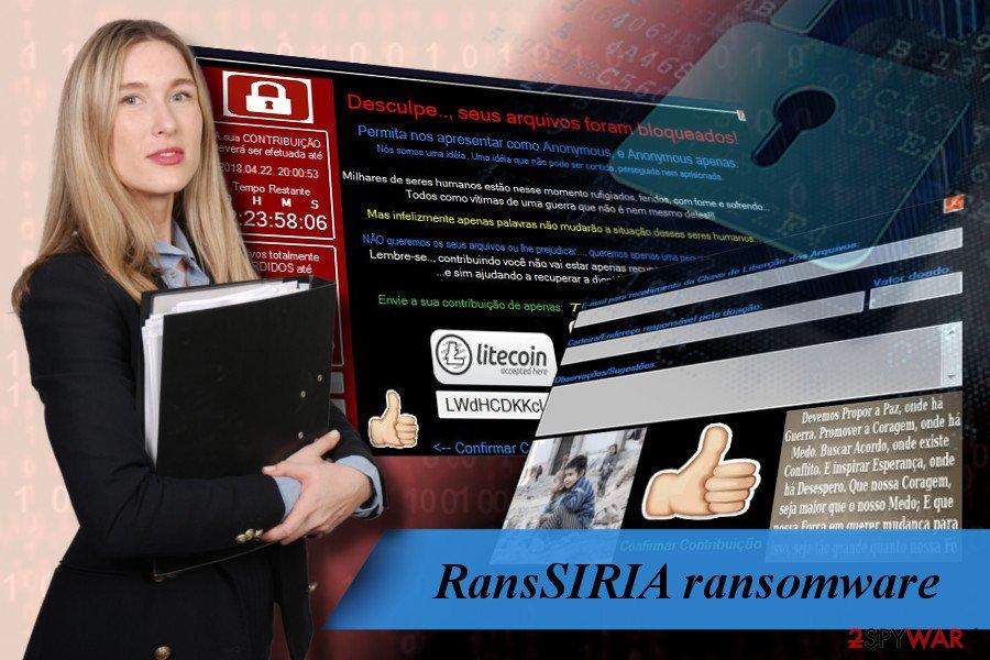 RansSIRIA targets Brazilian PC users