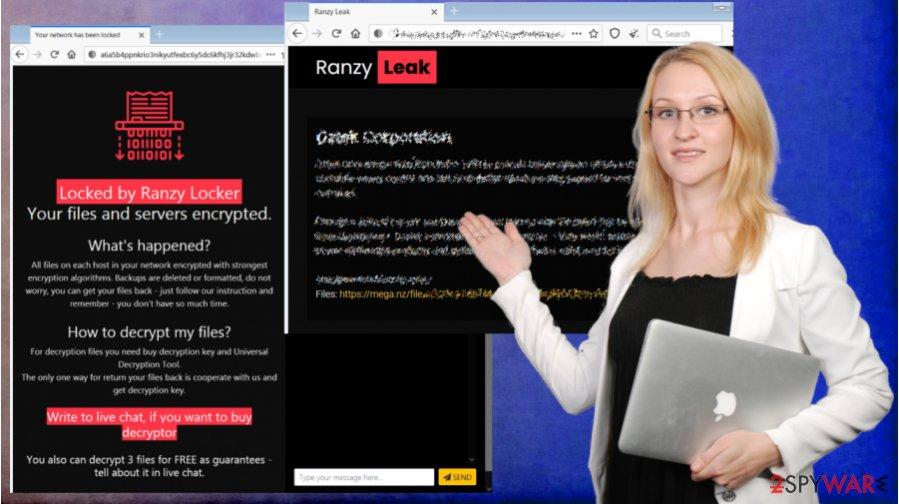 Ranzy Locker ransomware virus
