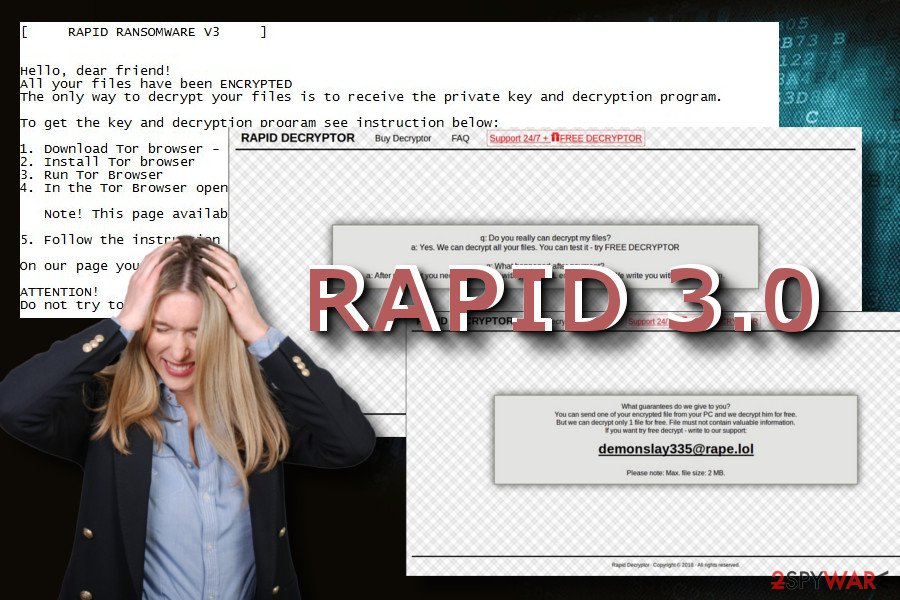 Rapid 3.0 ransomware