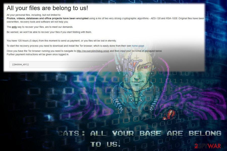RaRansomware virus