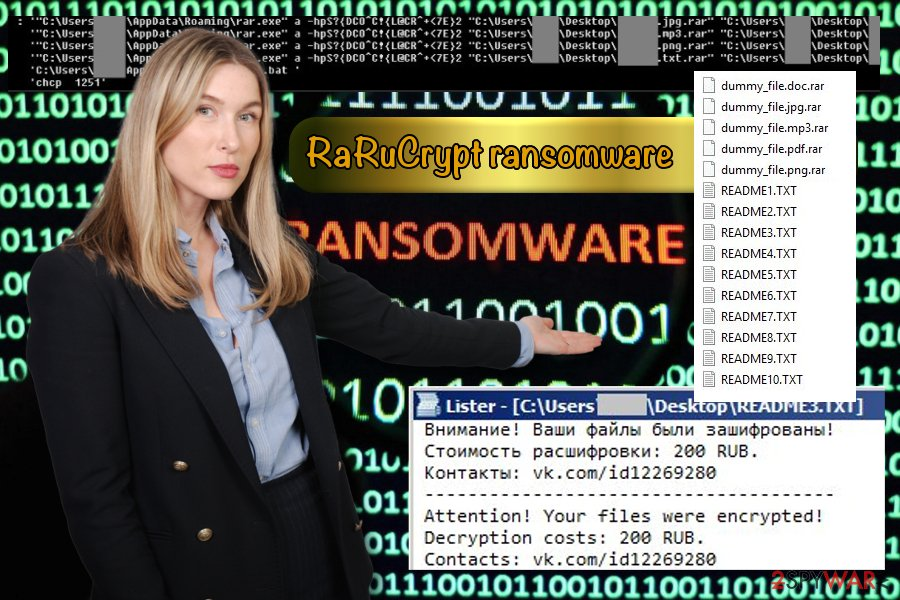 RaRuCrypt example