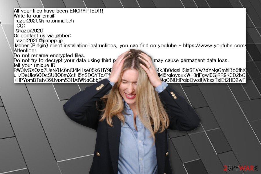 Razor ransomware