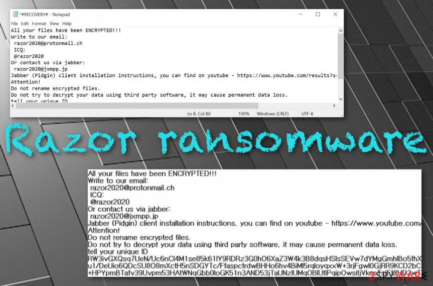 .razor files virus