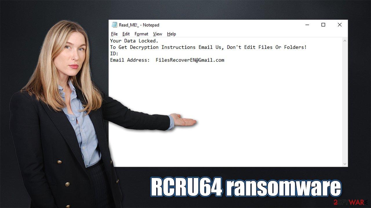 RCRU64 ransomware virus