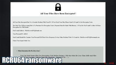 RCRU64 ransomware