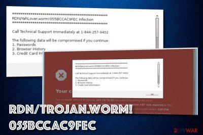 RDN Trojan worm PUP