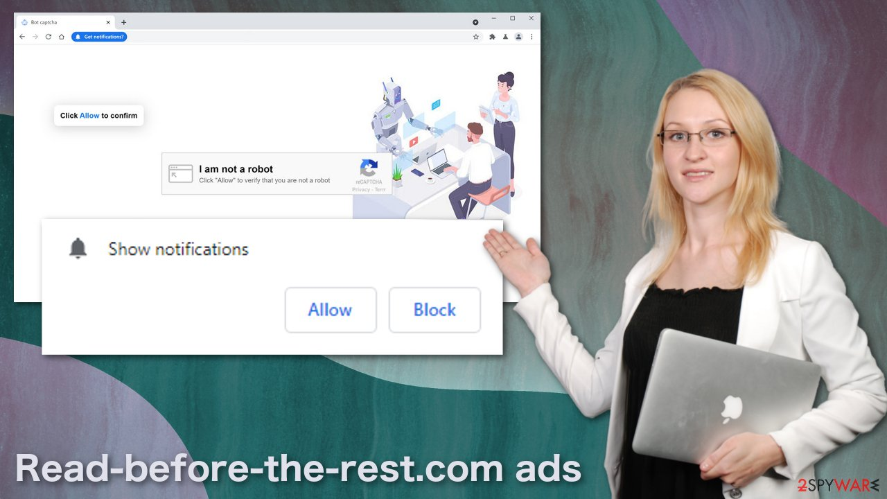 Read-before-the-rest.com ads