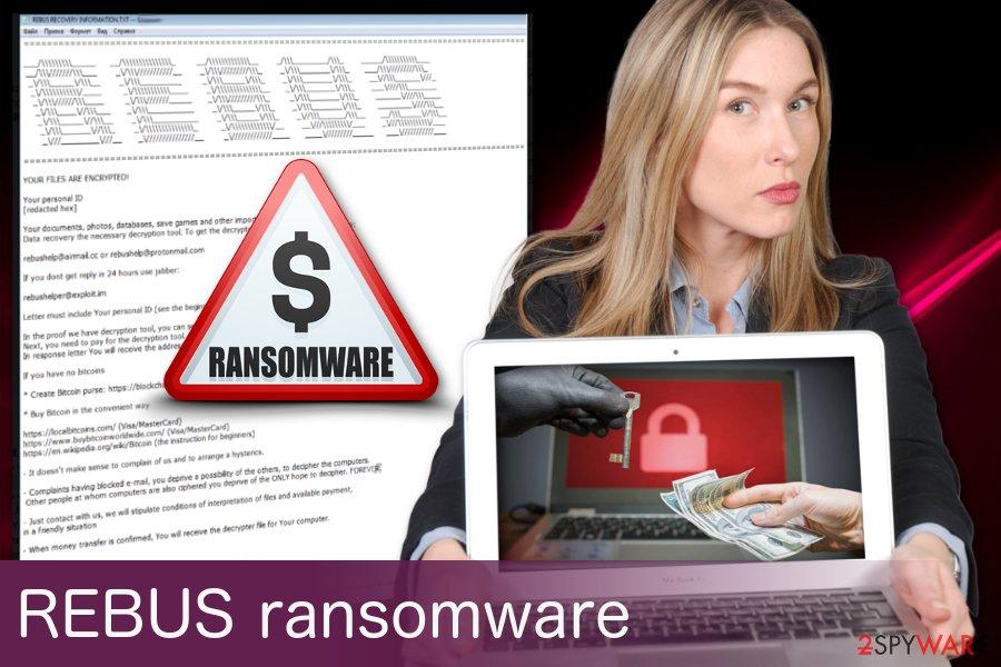 Rebus ransomware virus