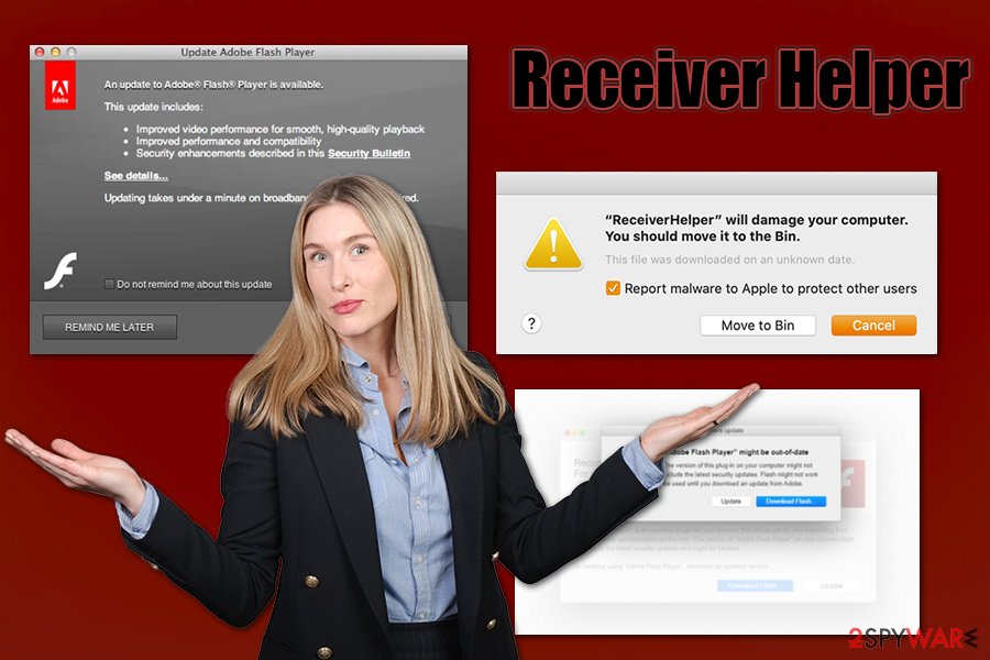 Receiver Helper virus