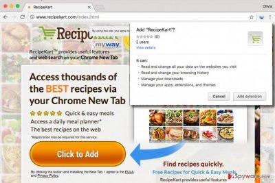 RecipeKart.com PUP